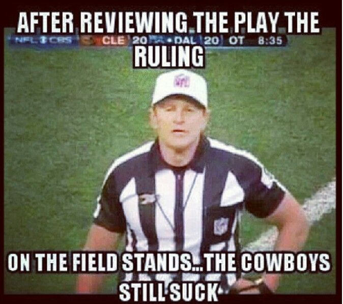 After Reviewing The Dallas Cowboys Memes