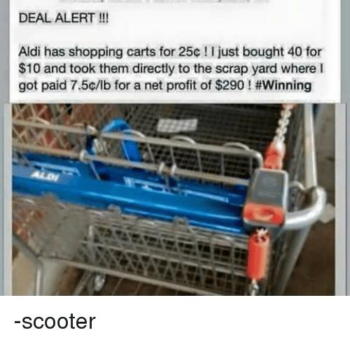 Aldi Has Shopping Aldi Meme