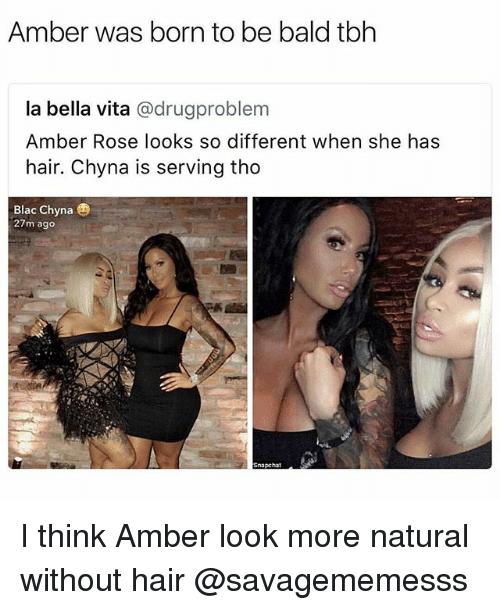 Amber Was Born Blac Chyna Memes
