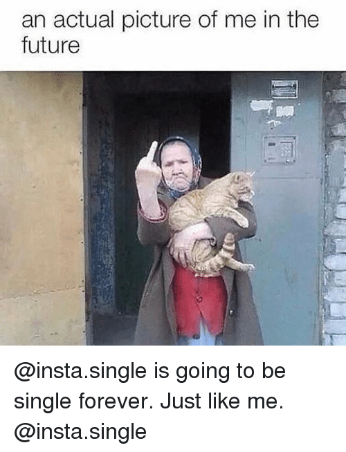 An Actual Picture Being Single Meme