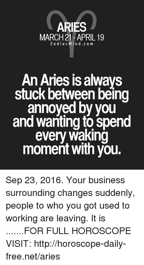 An Aries Is Always Stuck Between Aries Meme