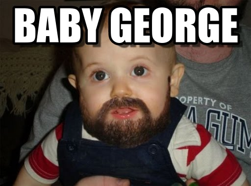 19 Hilarious George Meme Images And Pictures Memesboy