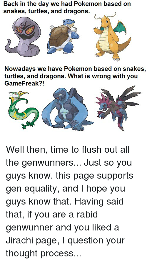 Back In The Genwunner Memes