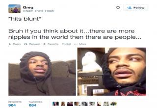 Bruh If You Think Hit Blunt Meme