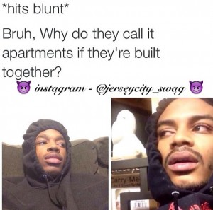 Bruh Why Do Hit Blunt Meme