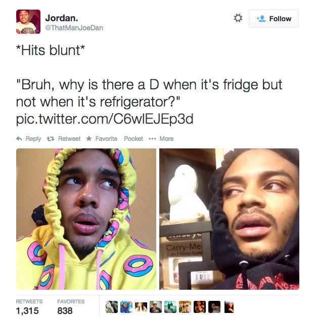 Bruh Why Is Hit Blunt Meme
