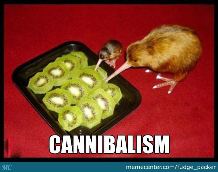 Cannibalism Kiwifruit Meme