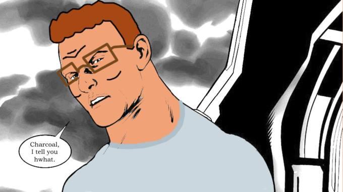 Charcoal I Tell Captain America Hydra Meme