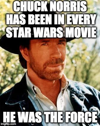 Chuck Norris Has Been May Meme