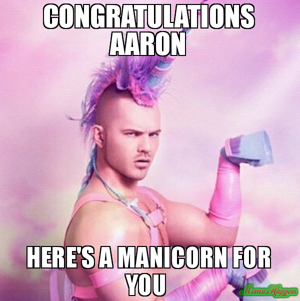 Congratulations Aaron Aaron Memes