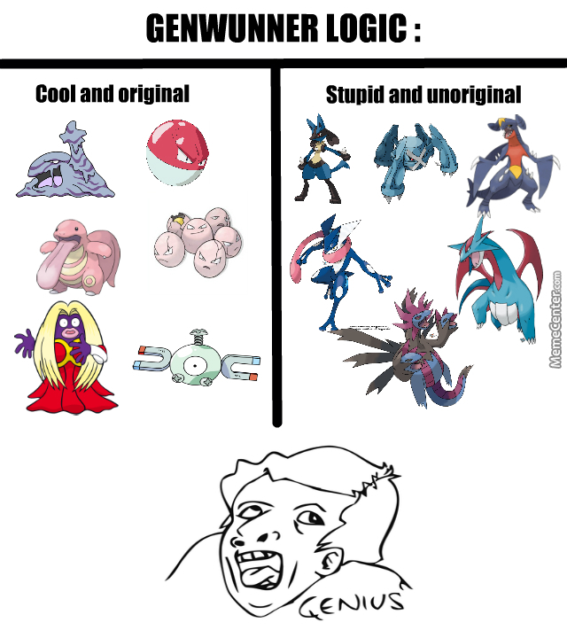 Cool And Origional Genwunner Memes