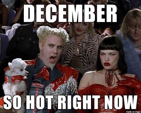 December So Hot Right December Meme