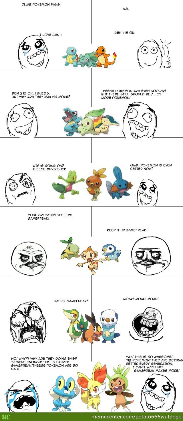 Dlimb Pokemon Fans Genwunner Memes