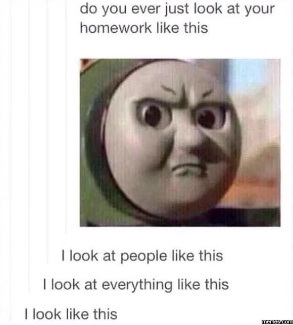 Do You Ever Just October Meme