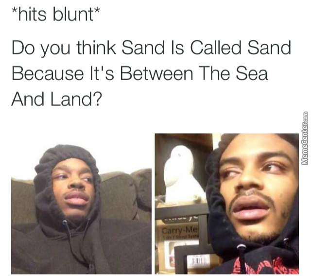 Do You Think Hit Blunt Meme