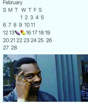 February S M T W T F S February Meme