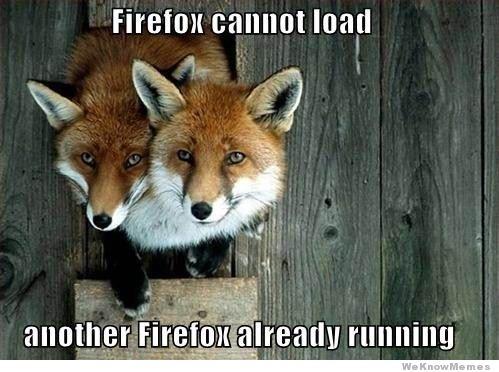 Firefox Cannot Load Another Firefox Fox Meme