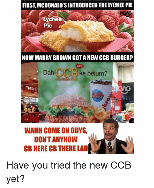 First Mcdonalds Introduced The Lychee Meme