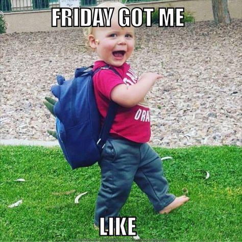 Friday Got Me Like Friday Meme