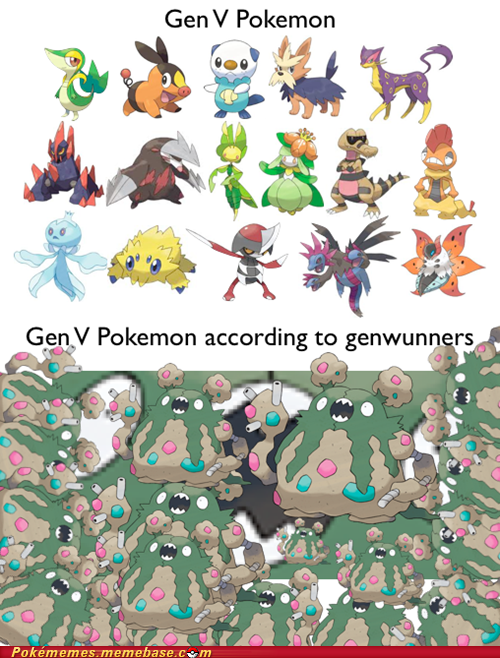 Gen V Pokemon Genwunner Memes