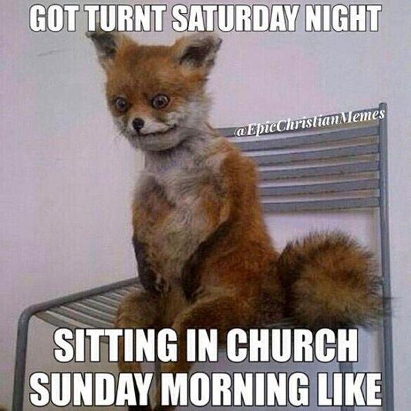Got Turnt Saturday Night Sunday Meme