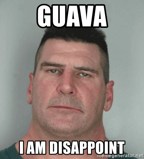 Guava I Am Disappoint Guava Meme
