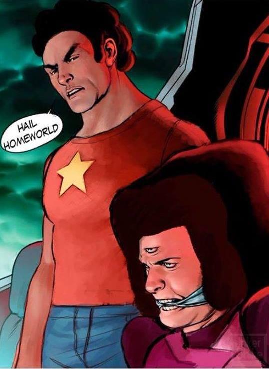 Hail Homeworld Captain America Hydra Meme