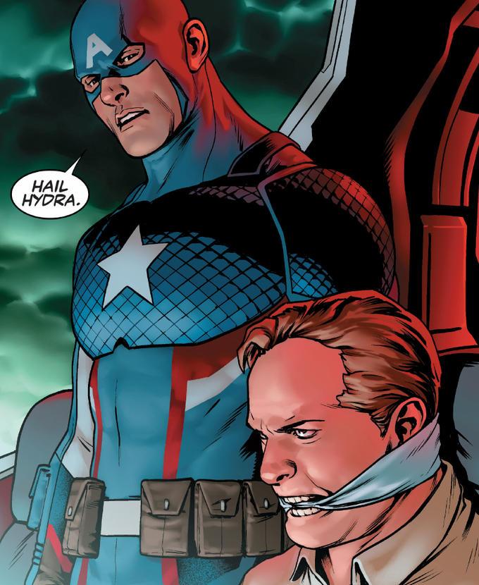 Hail Hydra Captain America Hydra Meme
