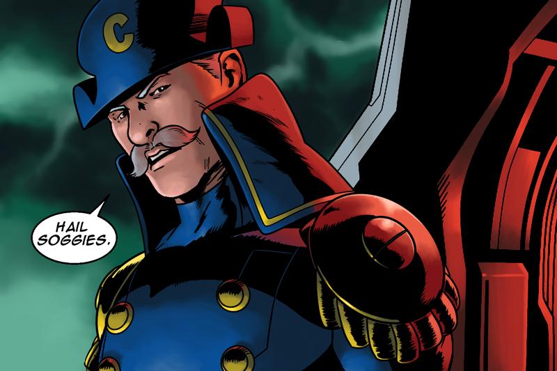 Hail Soggies Captain America Hydra Meme