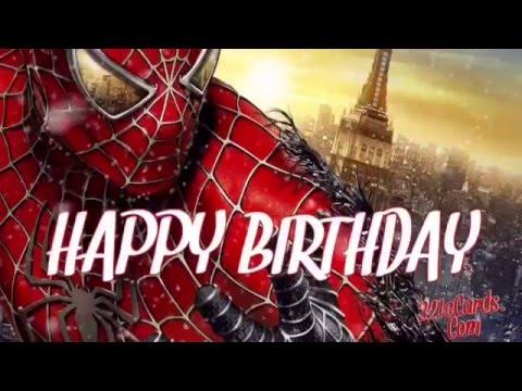 Spiderman Birthday Meme