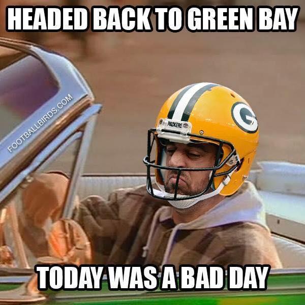 Headed Back To Aaron Rodgers Hail Mary Meme