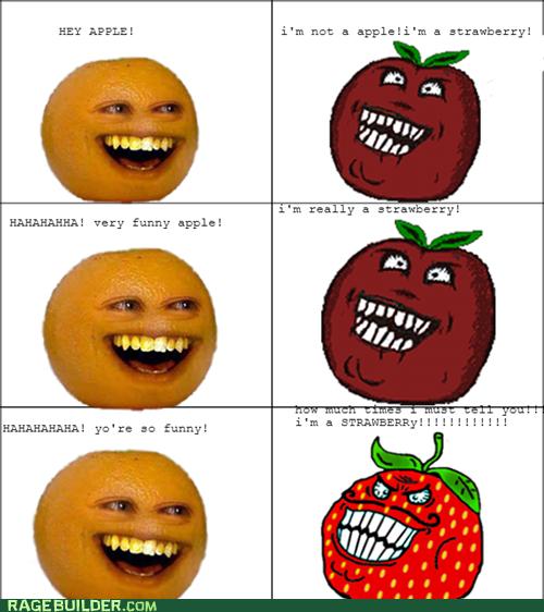 Hey Apple! I'm Not A Strawberry Meme