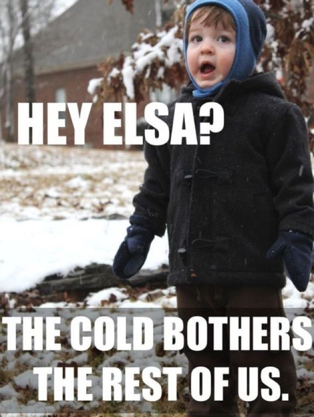 Hey Elsa The Stop Snowing Meme
