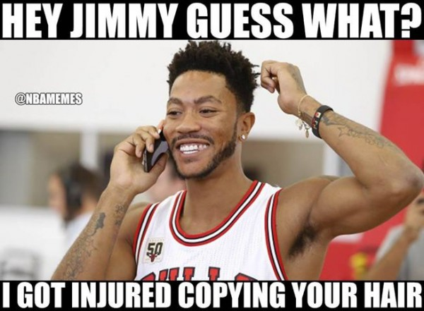 Hey Jimmy Guess What Derrick Rose Memes