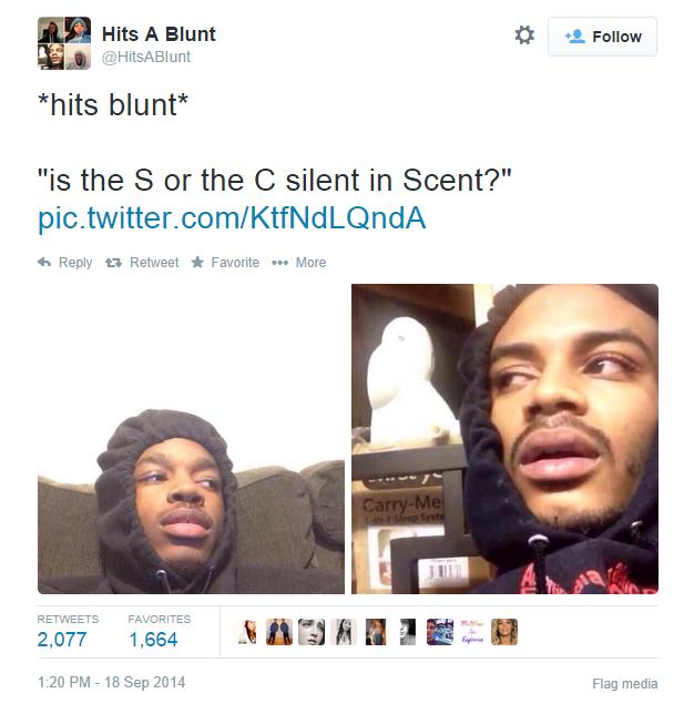 Hits Blunt Is Hit Blunt Meme