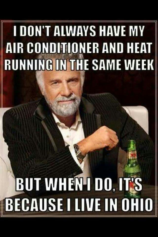 I Don't Always Fall Weather Meme