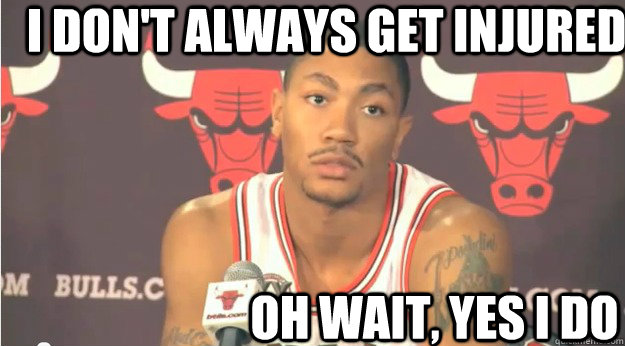 I Don't Always Get Derrick Rose Memes
