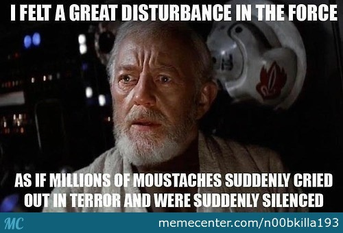 I Felt A Great Disturbance December Meme