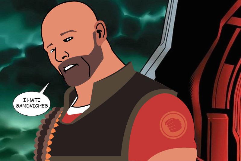 I Hate Sandviches Captain America Hydra Meme