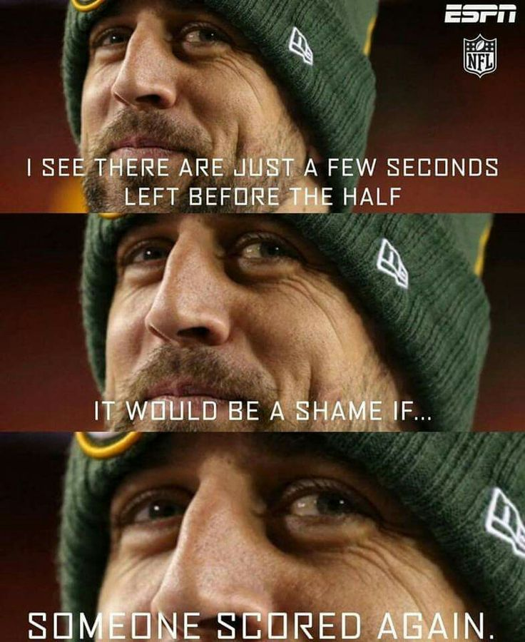 I See There Aaron Rodgers Hail Mary Meme