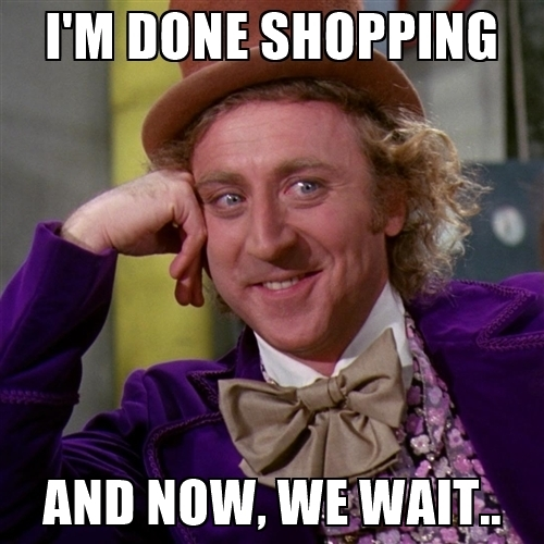 I'm Done Shopping Shopping Meme