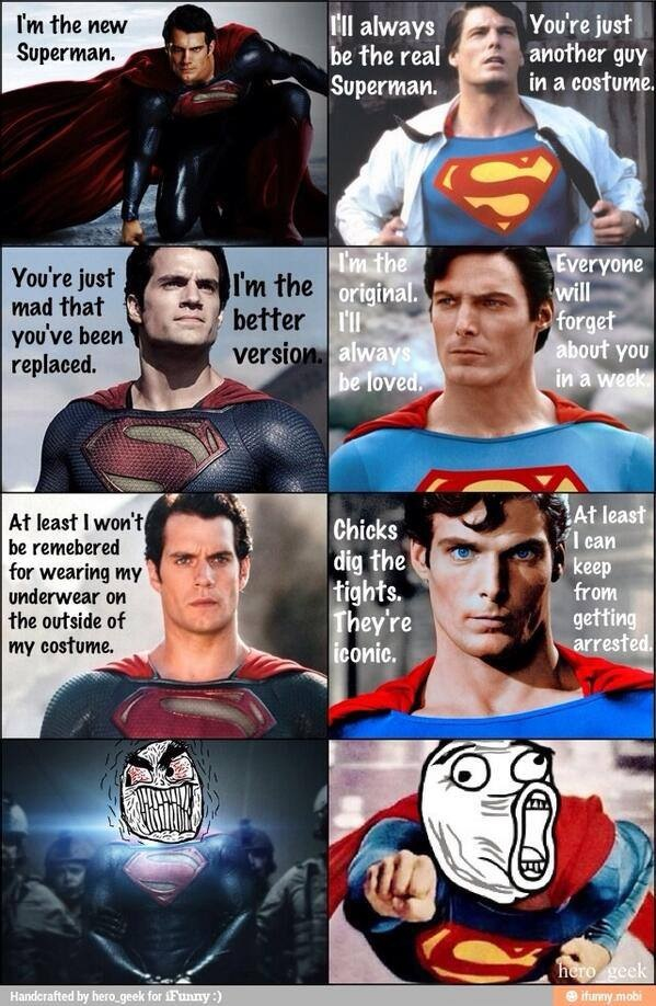 I'm The New Superman Memes