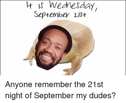 It Is Wednesday September September Meme