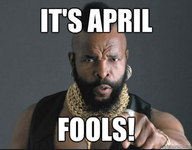 It's April Fools! April Meme