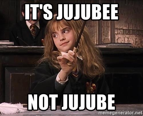 It's Jujubee Not Jujube Jujube Meme