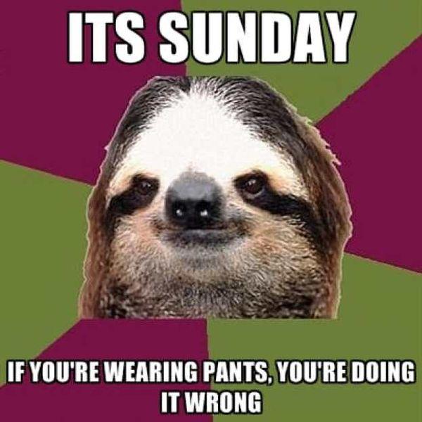 Its Sunday If You're Sunday Meme