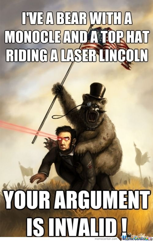 I've A Bear Laser Meme