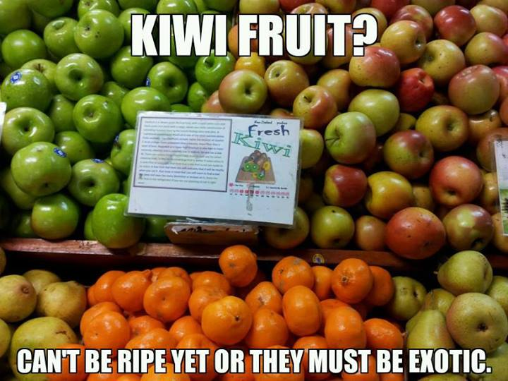 Kiwi Fruit Can't Be Kiwifruit Meme