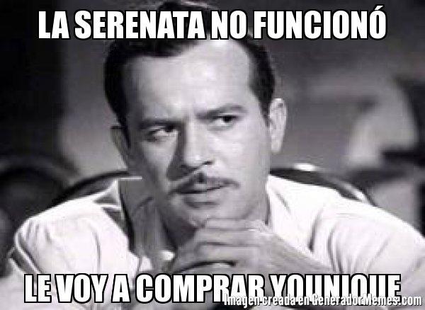 La Serenata No Younique Memes