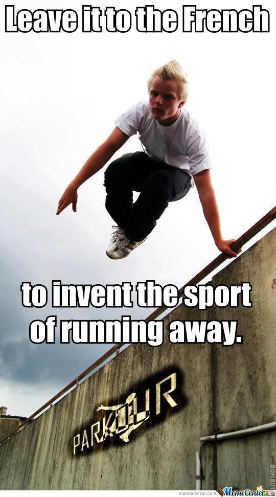 Leave It To Parkour Meme